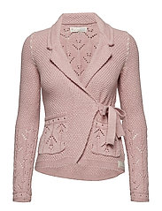 mrs charming cardigan - POWDER PINK