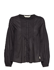 magic space blouse - ALMOST BLACK