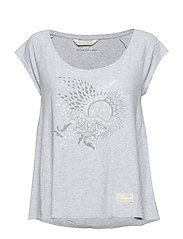 rock star t-shirt - SHADOW GREY