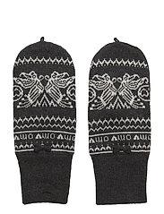 butterfly spirit gloves - ALMOST BLACK