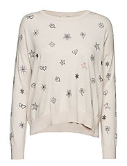happyness sweater - SHEER PINK