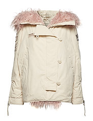 arctic glow parka - LIGHT PORCELAIN