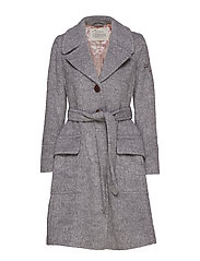 the smart coat - LIGHT GREY MELANGE