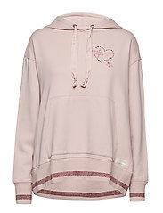 dream squad hoodie - SHEER PINK