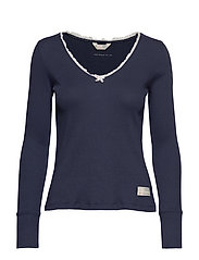 Tiny Miracle L/S Top - DARK BLUE