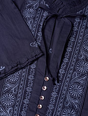 ODD MOLLY - Dance More Dances Blouse - blouses med lange mouwen - dark blue - 2