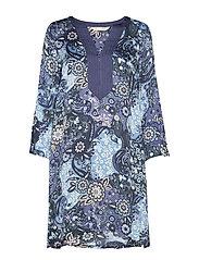 Belladonna Short Dress - DARK BLUE