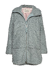 My Perfect Wrapping Jacket - MISTY OCEAN