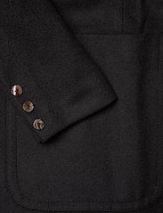 ODD MOLLY - Luna Coat - manteaux en laine - almost black - 5