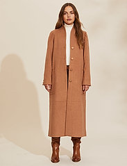 ODD MOLLY - Luna Coat - manteaux en laine - brown mocha - 0