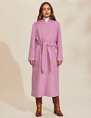 ODD MOLLY - Luna Coat - manteaux en laine - smokey purple - 0