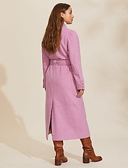 ODD MOLLY - Luna Coat - manteaux en laine - smokey purple - 3