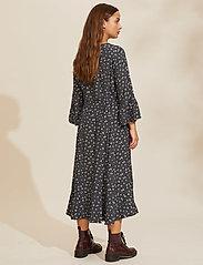 ODD MOLLY - Esmée Long Dress - hverdagskjoler - asphalt - 3