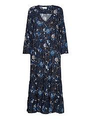 Doreen Dress - DARK BLUE