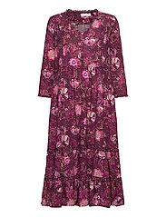 Doreen Dress - DARK PURPLE