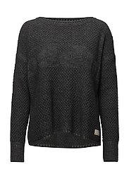improvise pullover - GREY MELANGE