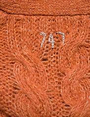 ODD MOLLY - Cozy Hugs Cardigan - gilets - deep orange - 3