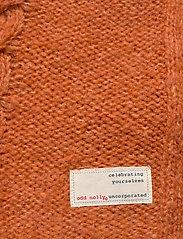 ODD MOLLY - Cozy Hugs Cardigan - gilets - deep orange - 4