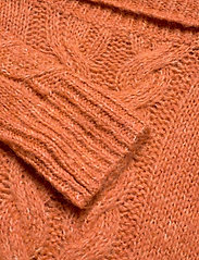 ODD MOLLY - Cozy Hugs Turtleneck - rolkraagtruien - deep orange - 2