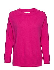 All Set Sweater - HOT PINK