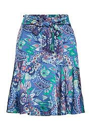 Head Turner Skirt - WASHED COBALT