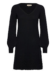 Simone Dress - ALMOST BLACK