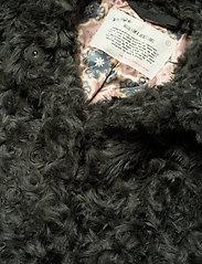 ODD MOLLY - Amandine Long Jacket - fausse fourrure - green asphalt - 5
