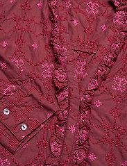 ODD MOLLY - Célia Dress - sommerkjoler - baked burgundy - 4