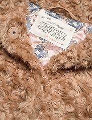 ODD MOLLY - Amandine Jacket - faux fur - soft taupe - 5