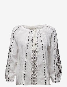 sparkling blouse - BRIGHT WHITE