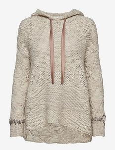 wavelength sweater - WARM WHITE