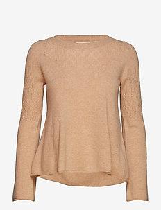 sunrise rhythm sweater - MOCCA