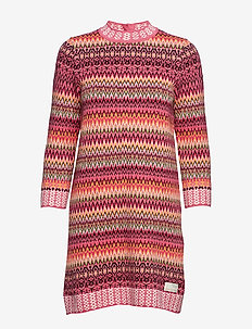 vivid vibration dress - MULTI