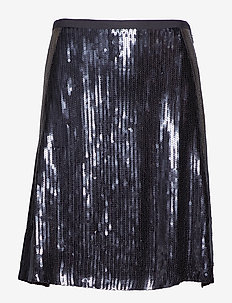 fast lane skirt - ALMOST BLACK