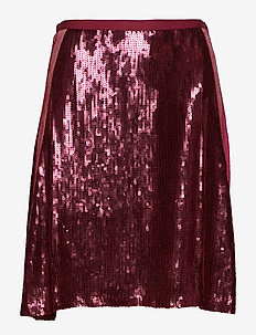 fast lane skirt - WINE