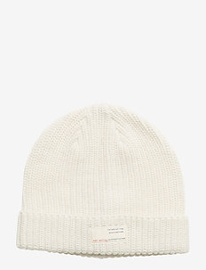 retreat beanie - LIGHT CHALK