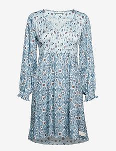 unsilent night dress - LIGHT BLUE