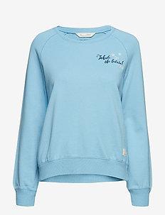 vibe spirit sweater - AIR BLUE