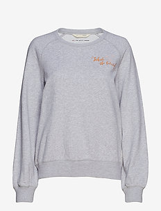 vibe spirit sweater - LIGHT GREY MELANGE