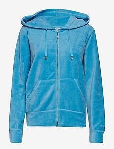 slow jam jacket - AIR BLUE