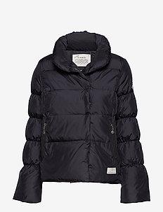 downbeat jacket - ALMOST BLACK