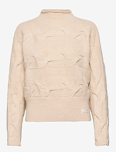 Spun Dreams Sweater - light porcelain