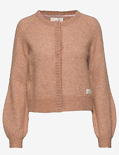 Cool With Wool Cardigan - CHOCOLATE CREAM
