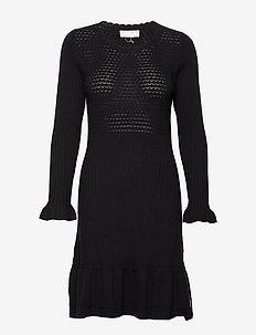 Savagely Cute Dress - ALMOST BLACK