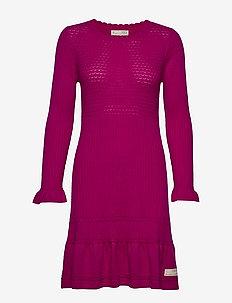 Savagely Cute Dress - FIREWORK FUCHSIA