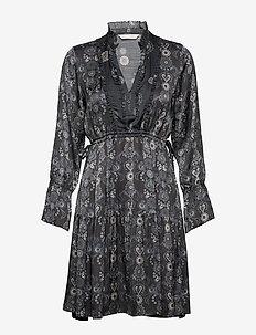 Brilliant & Brave Short Dress - ASPHALT