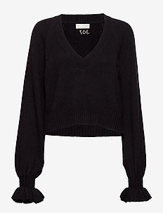 A Whole Lot Of Lovely Sweater - almost black