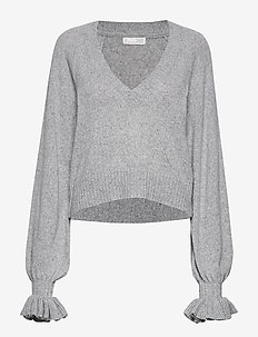 A Whole Lot Of Lovely Sweater - light grey melange