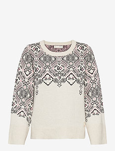 Nicole Sweater - swetry - light porcelain