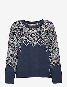 Nicole Sweater - swetry - slice of blue